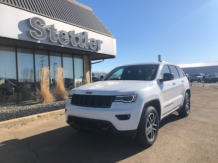Featured pre-owned  2018 Jeep Grand Cherokee Trailhawk SUV for sale in Stettler, AB