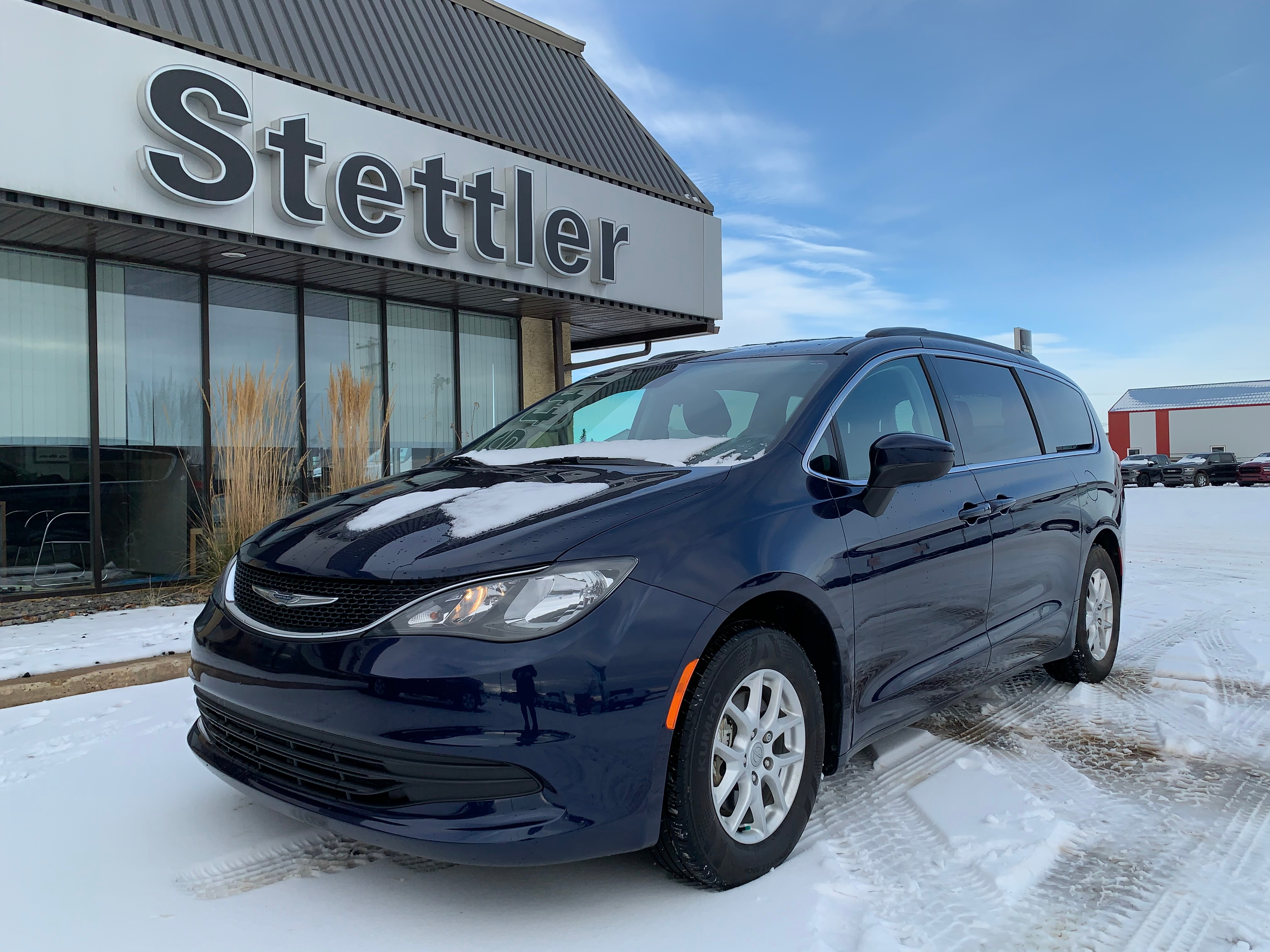 Featured pre-owned  2017 Chrysler Pacifica LX Van for sale in Stettler, AB