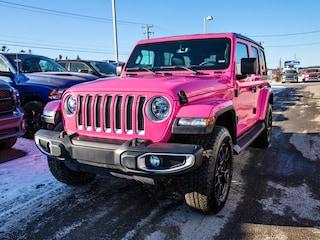 2020 Jeep Wrangler Unlimited Sahara 4x4 *Hot Pink* 2 toits *Navigation* Unique VUS