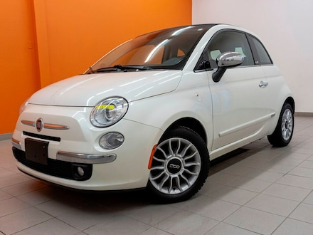 2014 FIAT 500C Lounge *Convertible* Sieges Chauf *Bluetooth Promo Cabriolet