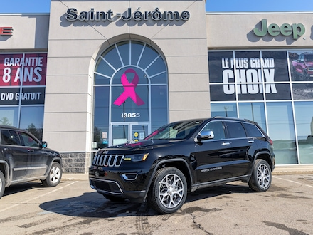 2021 Jeep Grand Cherokee LIMITED 4X4 *GR. LUXE II* TOIT *NAV* ALPINE *PROMO 4x4