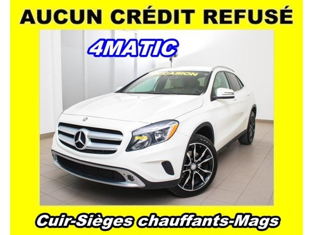 2017 Mercedes-Benz GLA-Class 4matic Mags SIÈGES Chauffants *Cuir* VUS