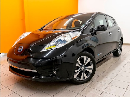 2015 Nissan Leaf SV Charge Rapide *NAV* Sieges Chauf *BAS KM* Promo À hayon