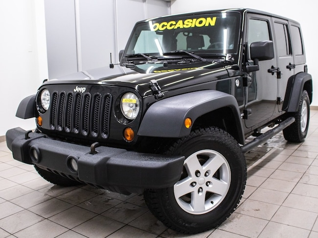 2008 Jeep Wrangler Unlimited X 4X4 *2 Toits* Edition Speciale *WOW! VUS