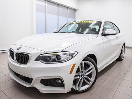 2017 BMW 230i xDrive XDRIVE *TOIT OUVRANT* CUIR *SIEGES CHAUFF* PROMO Coupé