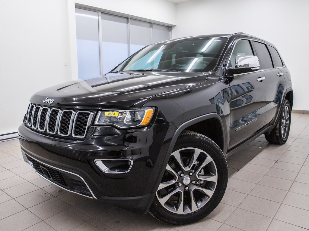 2018 Jeep Grand Cherokee Limited 4X4 Cuir *Navigation* GR. Securite *Promo VUS