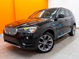 2017 BMW X3 XDRIVE28I AWD SIÈGES CHAUFF CAMÉRA C