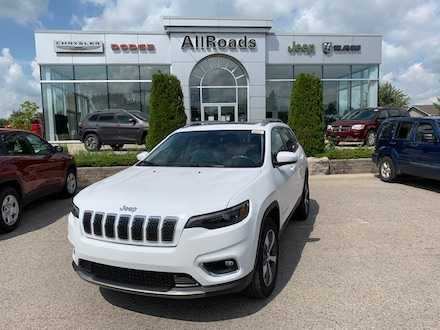 2021 Jeep Cherokee Limited/ heated leather/ v6/ 4x4/ 10% + off MSRP! 4x4