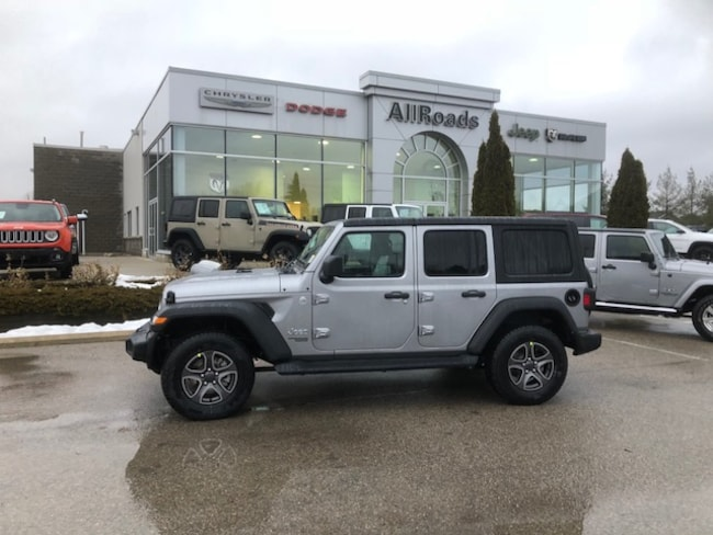 2018 Jeep All new Jeep Wrangler Unlimited New JL Wrangler Unlimited save 10% off MSRP! SUV