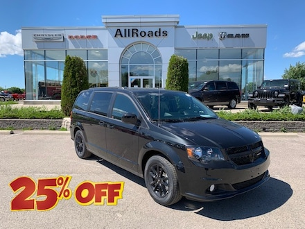 2020 Dodge Grand Caravan GT / Heated leather, 25% off MSRP! Van