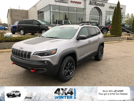 2020 Jeep Cherokee Trailhawk elite, save over 10% off MSRP! 4x4