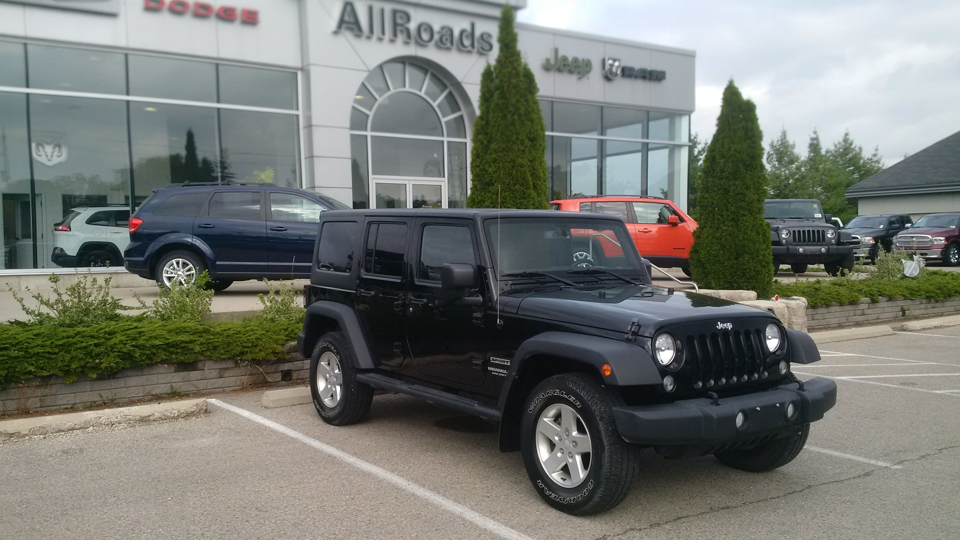 2015 Jeep Wrangler Unlimited Sport Unlimited Loaded 4x4! SUV