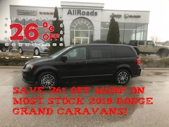 2019 Dodge Grand Caravan Blacktop Edition with Nav!, save 26% off MSRP Van