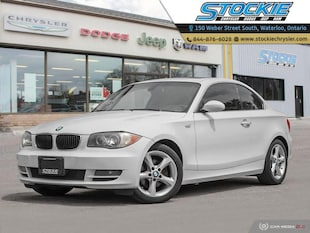 2009 BMW 1 Series 128i- Leather- Heated Seats- Sunroof Coupe