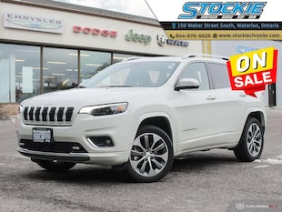 2019 Jeep Cherokee Overland Leather- Navigation- Low KM SUV