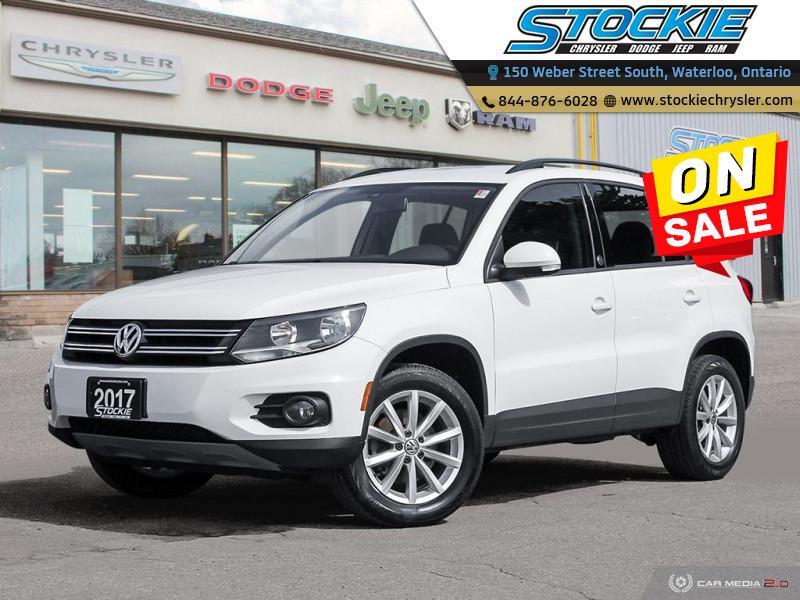 2017 Volkswagen Tiguan Wolfsburg Edition $146 Bi-Weekly $0 Down! SUV