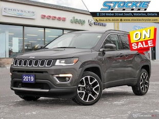 2019 Jeep Compass Limited $225 Bi-Weekly $0 Down! SUV