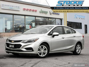 2018 Chevrolet Cruze LT LT Turbo, Bluetooth, Sedan