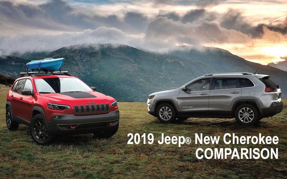 Model, 2019 Jeep New Cherokee ...