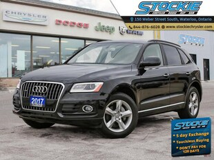 2017 Audi Q5 2.0T Quattro Komfort Heated Leather Seats, Sunroof SUV