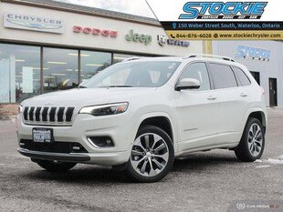 2019 Jeep Cherokee Overland Leather Navi Pano Roof Low KM SUV