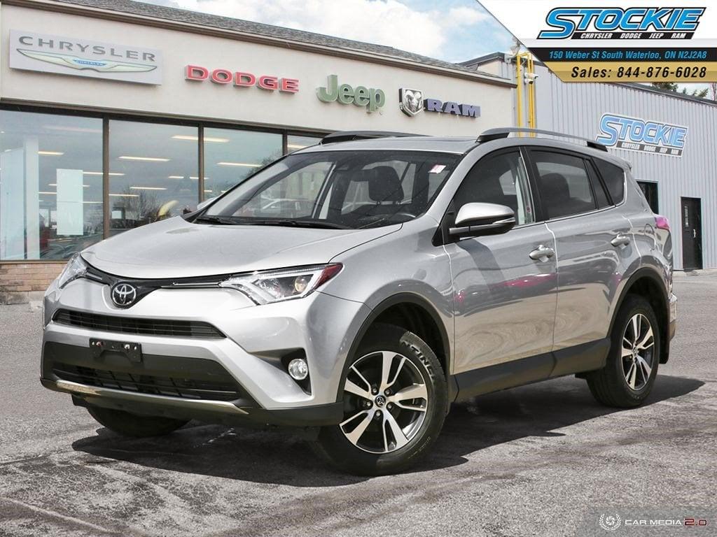 2017 Toyota RAV4 XLE Sport Utility