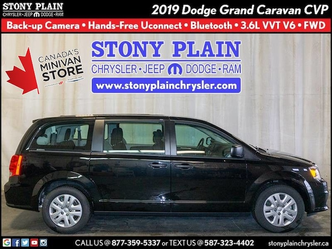 New 2019 Dodge Grand Caravan Canada Value Package Van Stony Plain
