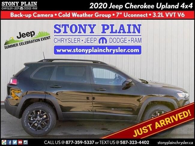 New 2020 Jeep Cherokee Upland SUV Stony Plain