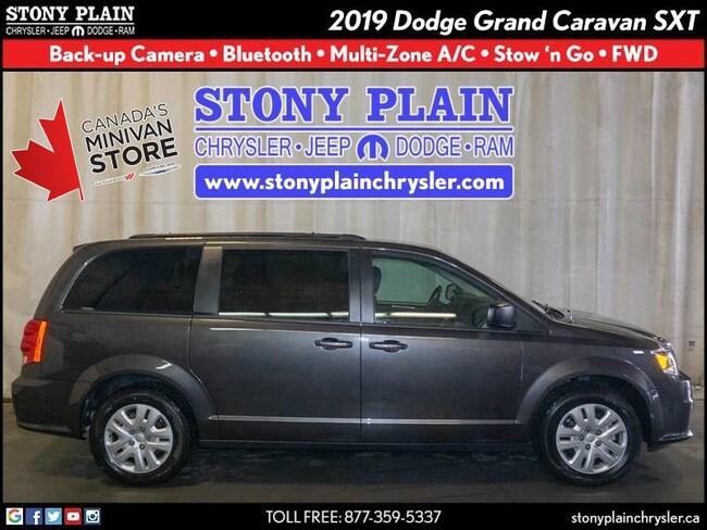 New 2019 Dodge Grand Caravan SXT Van Stony Plain