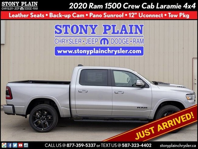 New 2020 Ram 1500 Laramie Truck Crew Cab Stony Plain