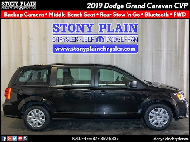 New 2019 Dodge Grand Caravan Canada Value Package Van Stony Plain