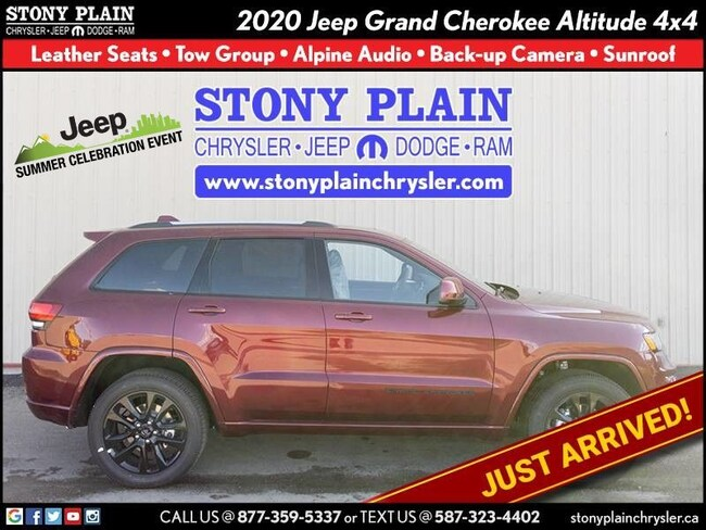 New 2020 Jeep Grand Cherokee Altitude SUV Stony Plain