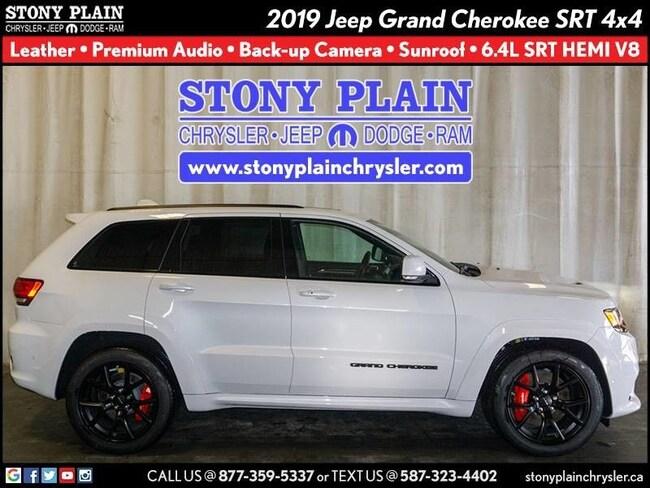New 2019 Jeep Grand Cherokee SRT SUV Stony Plain