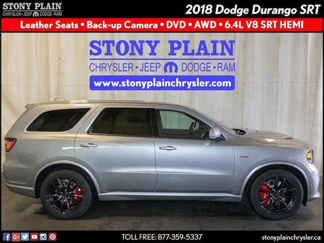 New 2018 Dodge Durango SRT SUV Stony Plain