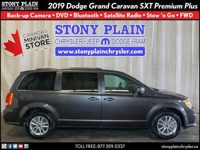 New 2019 Dodge Grand Caravan SXT Premium Plus Van Stony Plain