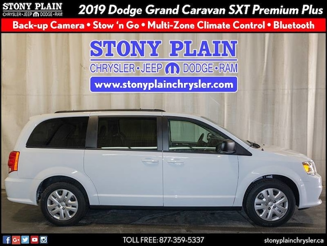 New 2019 Dodge Grand Caravan SXT Van Stony Plain