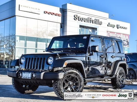 2018 Jeep Wrangler JK Unlimited Wrangler Willys, Auto, Hardtop, 4X4, Trailer Hitch SUV