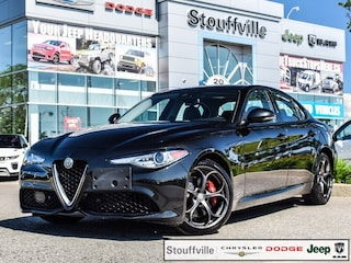 2018 Alfa Romeo Giulia TI Sport AWD Company CAR, 4,900 KMS Berline
