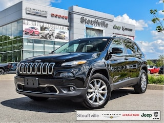 2018 Jeep Cherokee Limited, Safety/Tech/Trailer TOW/Roof/26,400 KMS SUV