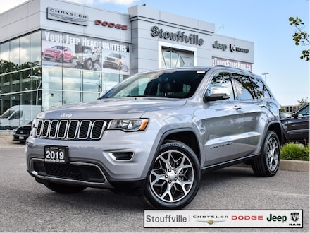 2019 Jeep Grand Cherokee Limited, Roof, Navi, Blind Spot, Leather Seats SUV