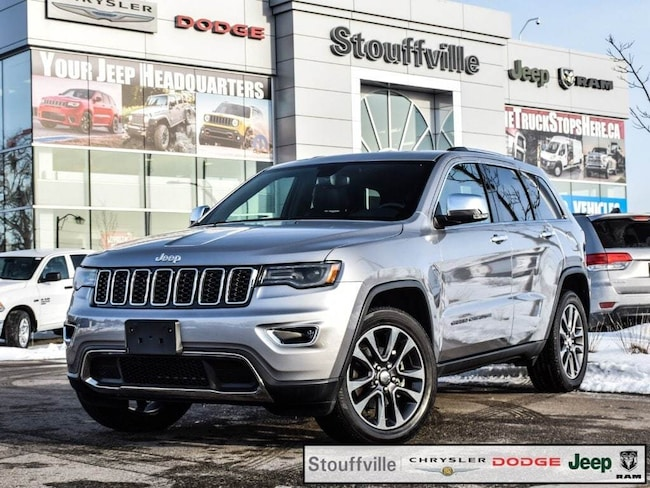2018 Jeep Grand Cherokee Limited, Luxury Group, Navi, Pano Roof SUV
