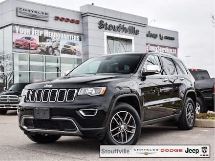 2018 Jeep Grand Cherokee Limited, Navi, Roof, Blind Spot, Only 87,500 KM SUV