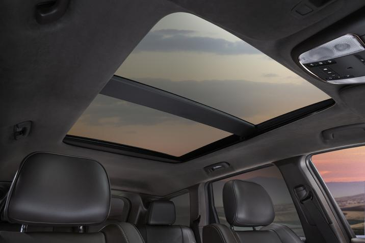 2020 Jeep Grand Cherokee Summit Dual Pane Panoramic Sunroof