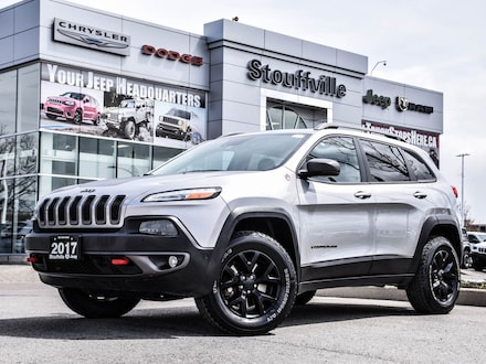 2017 Jeep Cherokee Trailhawk L Plus, TOW/Safety/Tech/Roof/NAV/Camera SUV