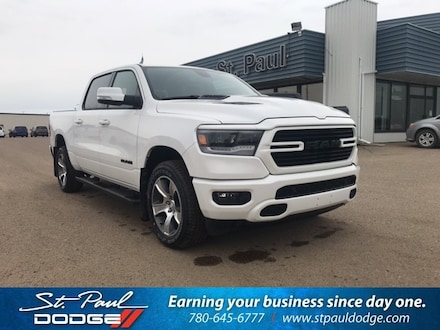 Featured New 2020 Ram 1500 Sport/Rebel Truck Crew Cab for sale/lease in St. Paul AB