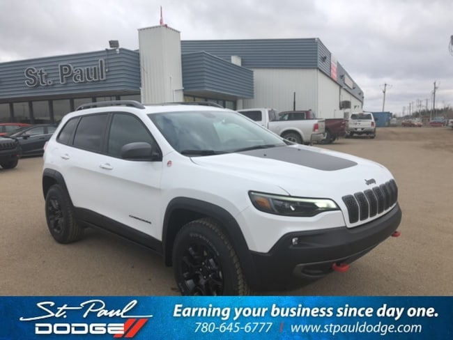 New 2019 Jeep New Cherokee Trailhawk 4x4 SUV for sale/lease in St. Paul, AB