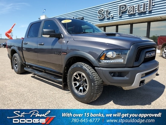 Dodge 2016 Truck >> Used 2016 Ram 1500 Rebel For Sale St Paul Ab