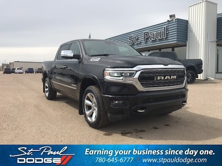 Featured New 2020 Ram 1500 Limited Truck Crew Cab for sale/lease in St. Paul AB