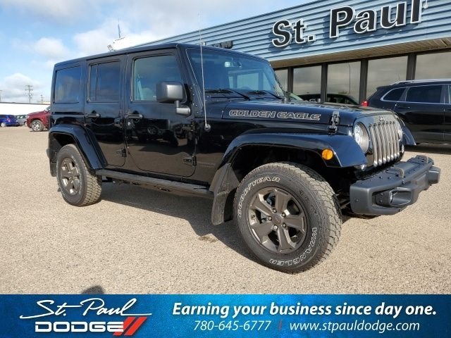 Featured New 2018 Jeep Wrangler JK Golden Eagle SUV for sale/lease in St. Paul AB