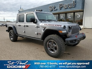 Used 2020 Jeep Gladiator Rubicon 4x4 Camion cabine Crew for Sale in St. Paul AB